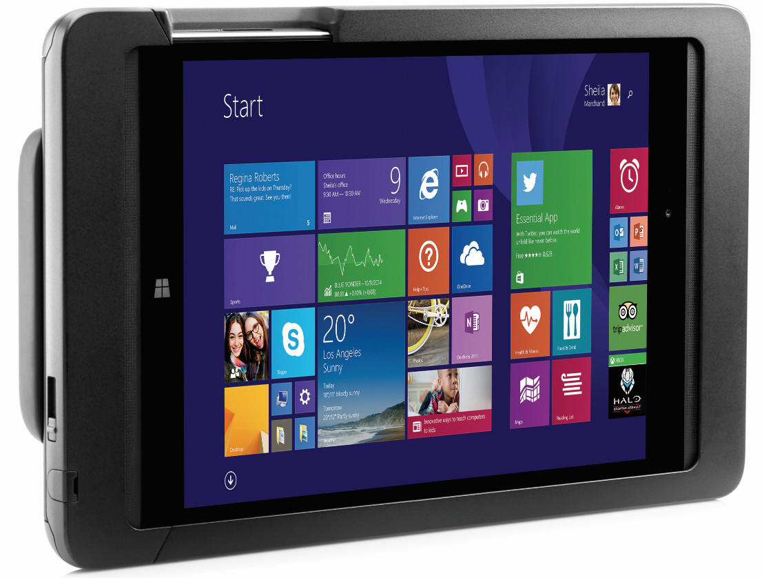 hp pro tablet 608 el primero con windows 10. Black Bedroom Furniture Sets. Home Design Ideas