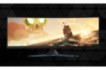Vista frontal del monitor de gaming lenovo legion Y44w