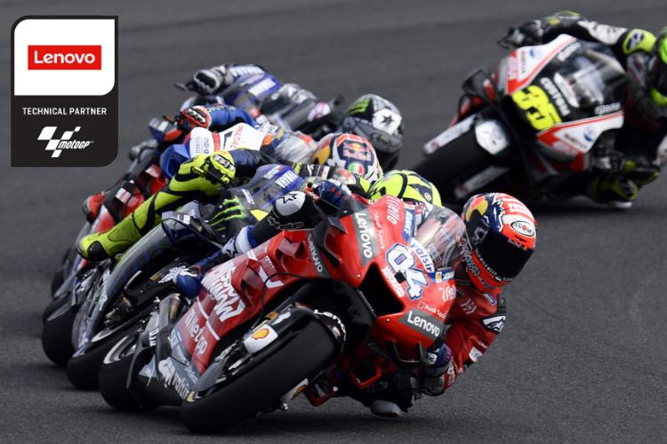 Lenovo socio tecnologico MotoGP