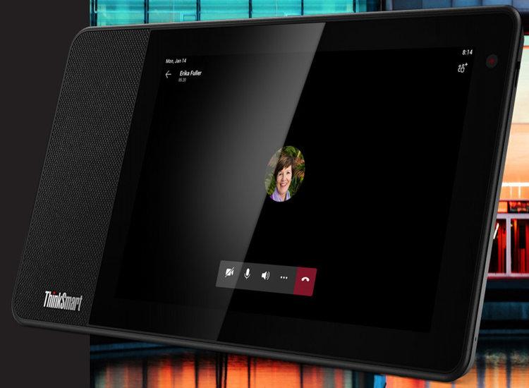 Lenovo comercializa el asistente con pantalla, ThinkSmart View