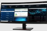 Lenovo ThinkVision P34w-20 y ThinkPad Thunderbolt 4 Workstation Dock, apoyos para el teletrabajo
