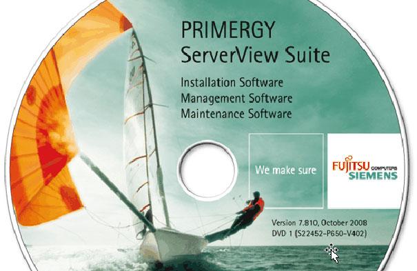Primergy ServerView Suite: gestión de servidores de Fujitsu