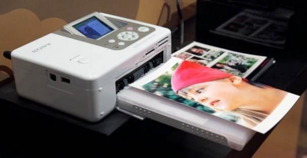 Sony vende su división de impresoras fotográficas