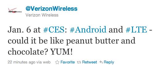 Verizon anuncia terminales Android para sus redes de cuarta generación