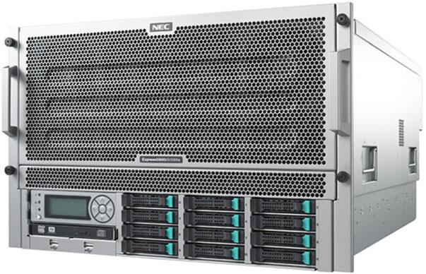 NEC ITPS lanza el servidor empresarial Express5800/A1080a