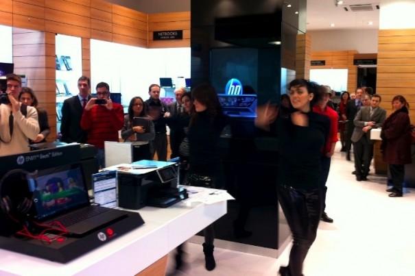 Inaugurada la primera tienda HP en España