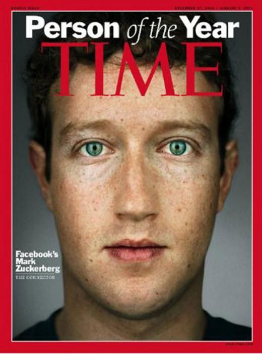Zuckerberg en Times