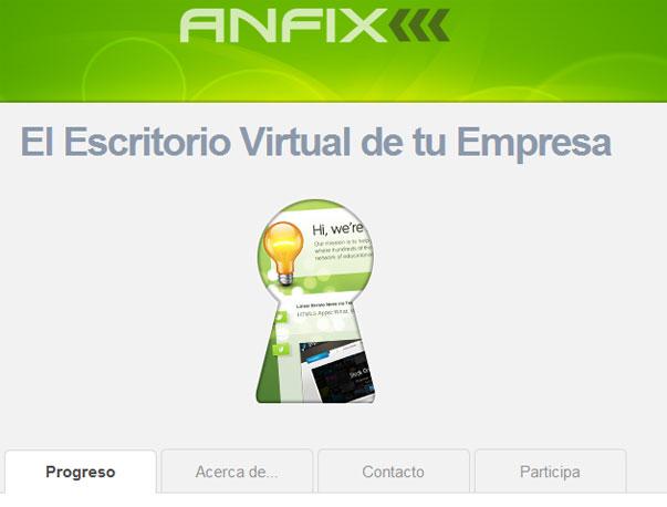 Anfix inaugura su centro de I+D donde desarrollar el Escritorio Virtual para pymes