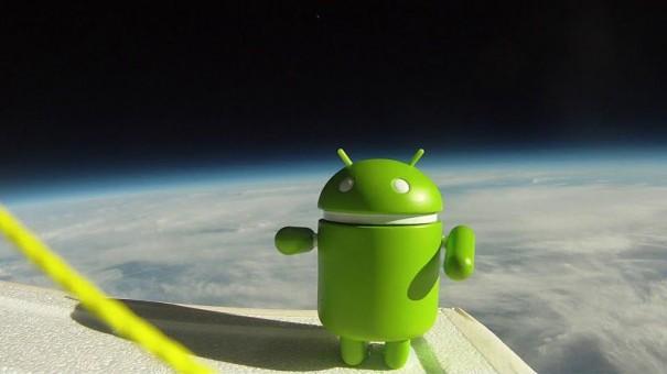 Google envía el Nexus S Android al espacio