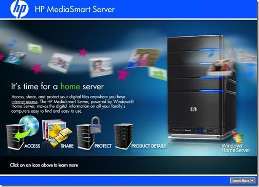 HP suspende los MediaSmart con Windows Home Server