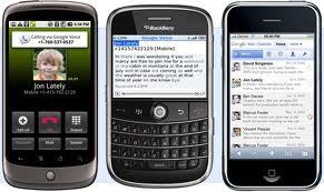iPhone y Android se popularizan en empresas, ¿fin de la hegemonía BlackBerry?