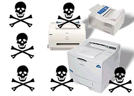 El ataque de las impresoras troyano
