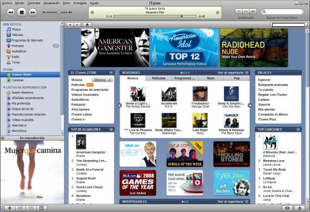 Apple tiene un 66% de la música en línea