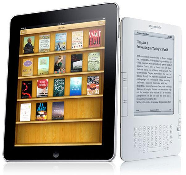 EE.UU: iPad amenaza el liderazgo de Kindle