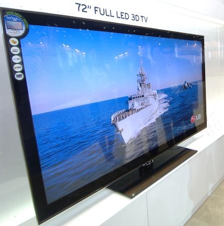 LG presentará en el CES el HDTV 3D más grande del mundo