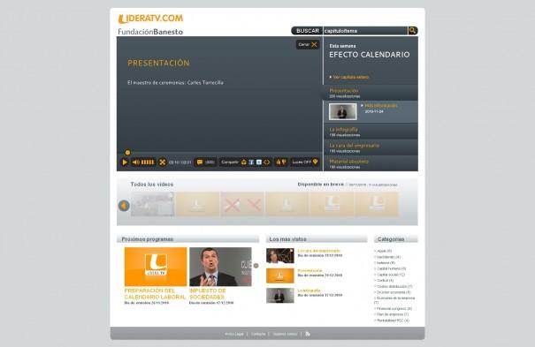 LideraTV, la televisión de los emprendedores, se presenta el lunes