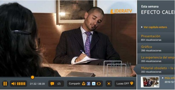 """Material obsoleto"" la sitcom de humor de LideraTV sobre el mundo de la empresa"