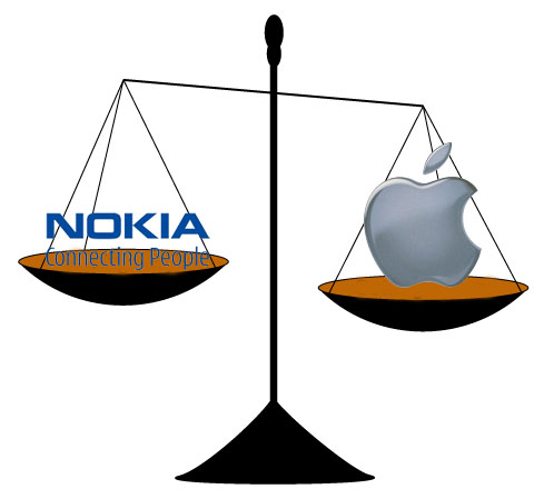 Nokia ha interpuesto 13 demandas a Apple en Europa