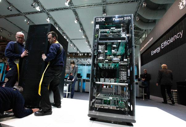 Los superordenadores de IBM son los más eficientes del mundo