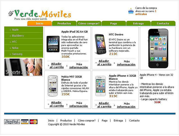 Verde moviles