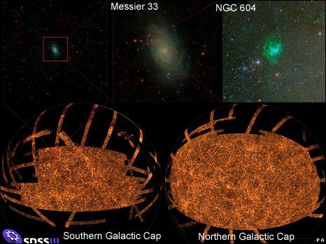 La mayor fotografía del espacio profundo: tres billones de píxeles