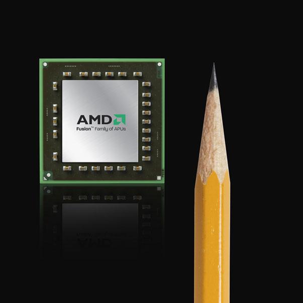 AMD anuncia las APUs AMD Fusion