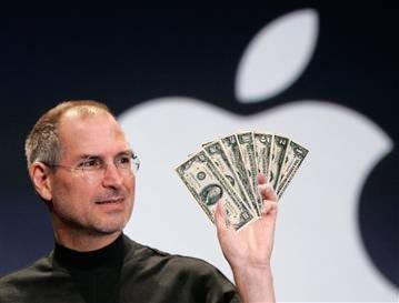 Apple supera la barrera de los 300.000 millones de dólares en capitalización bursátil