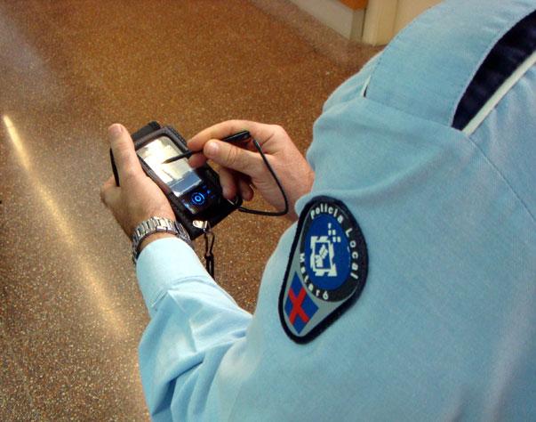 La gestión de las infracciones, más rápidas en Mataró