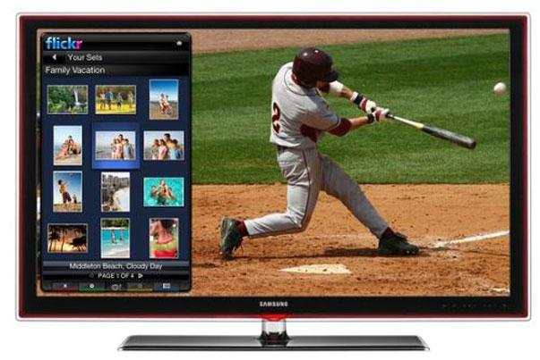 Televisión con internet de Samsung y Google