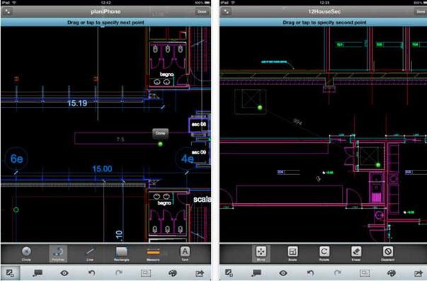 Nueva actualización de AutoCAD WS para editar diseños de manera offline