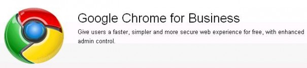 Chrome for Business, a por los profesionales