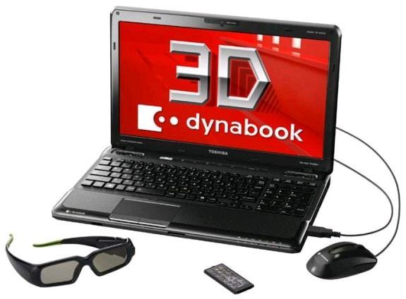 Toshiba Dynabook T551, nuevo portátil 3D