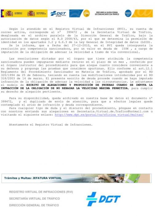 Nuevo ataque de phishing dirigido contra la Dirección General de Tráfico