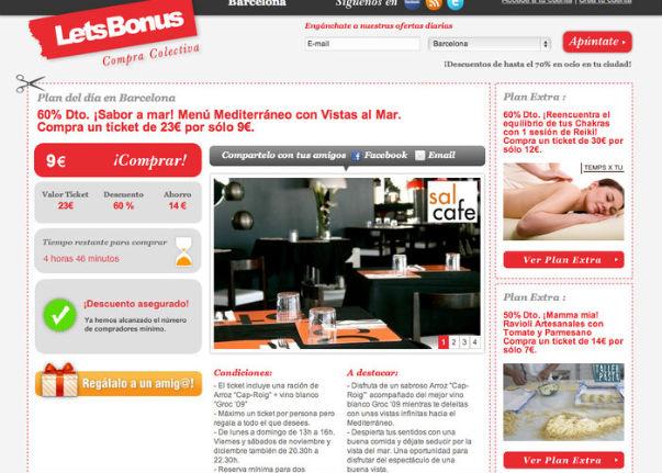 LetsBonus y LivingSocial anuncian un partnership para Europa y Latinoamérica