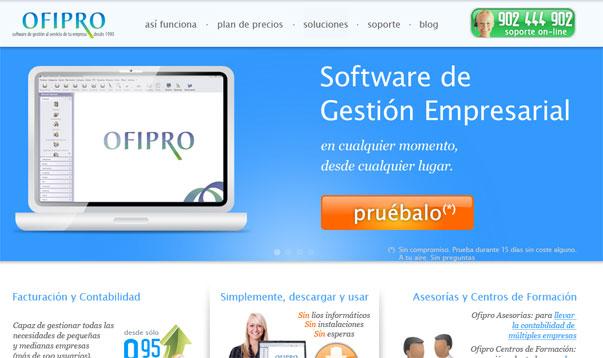 Novedades de Ofipro, el software de gestión para pymes