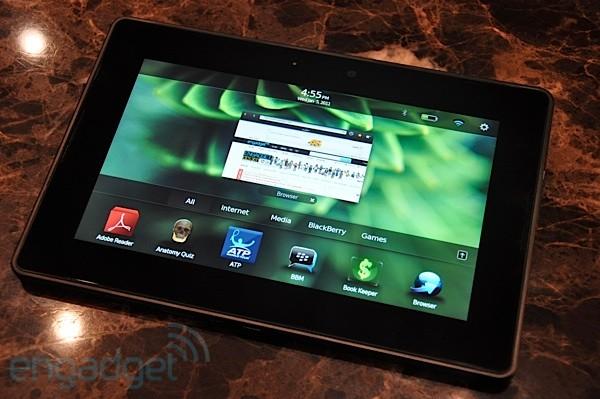 RIM PlayBook, el Tablet PC que pretende enamorar a los responsables TIC