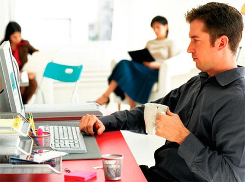 Redes sociales oficina