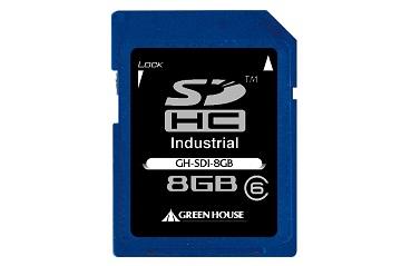 Nuevas tarjetas SD/SDHC de nivel industrial Green House