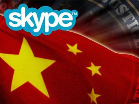 Skype cumple con la legislación China, al menos de momento
