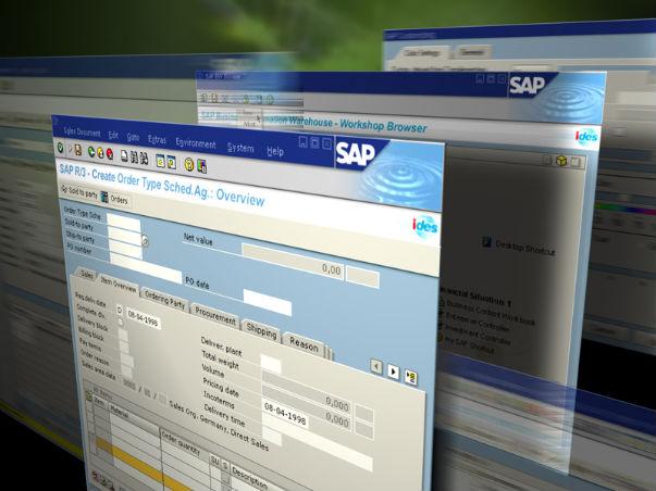 SAP: ingresos por venta de software récord en el cuarto trimestre de 2010