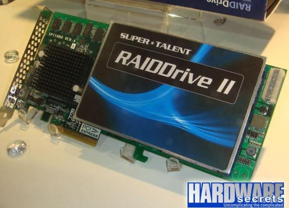 Super Talent RaidDrive 2, la tarjeta de almacenamiento más rápida del mercado