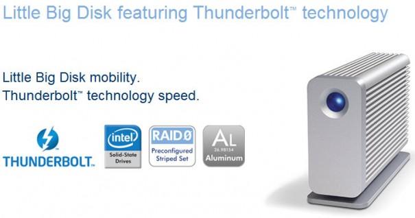 LaCie anuncia el primer dispositivo con tecnología Intel Thunderbolt