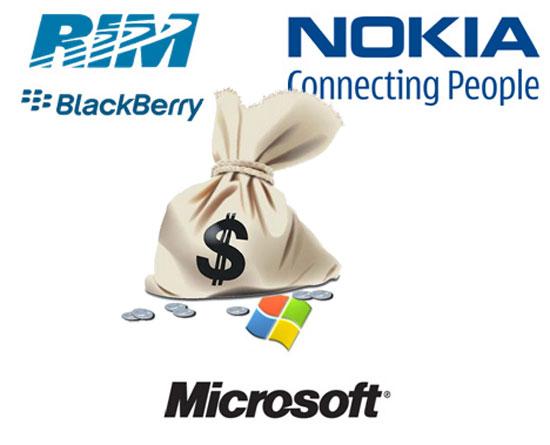 RIM, Nokia y Microsoft