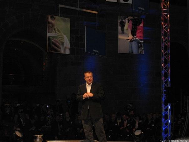 Stephen Elop en Barcelona