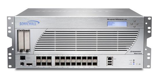 Nueva serie de firewalls de última generación SuperMassive E10000 de SonicWALL