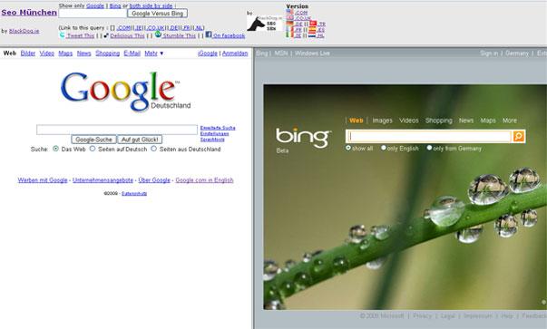 Google acusa a Microsoft de que copia sus resultados de búsquedas