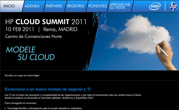 HP Cloud Summit 2011: tecnología en la nube