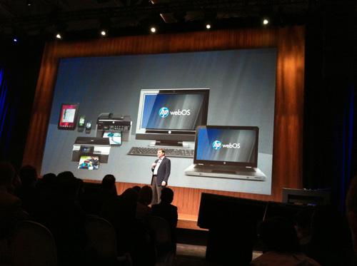 HP confirma ordenadores con webOS