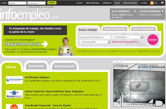 Datametrie mide la calidad de los servicios de Infoempleo.com