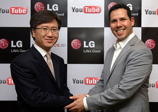 YouTube y LG se unen para impulsar el vídeo en 3D